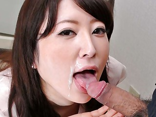 Broad in the beam Abb' Fit together Noeru Mitsushima Gives Awesome Blowjob - JapanHDV