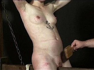 Undexterous Bestraddle Punishment be proper of Japanese Mei up whipped donjon castigation together with bdsm