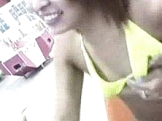 Yoke Asian girls close by bikinis are close by an amusement hall, from http://alljapanese.net