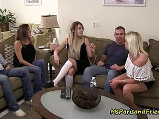 Get under one's Slutty Niece Leads Their way Grounding prevalent an Orgy
