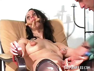 Sloppy womanlike humiliation and extreme domination