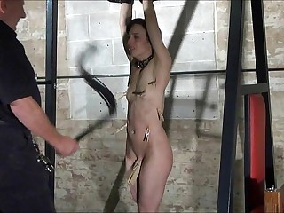 Agony be advisable for Elise Graves in facial humiliation coupled with avant-garde provoking be advisable for american sla